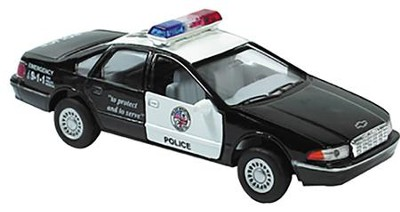 Die-Cast Police Car  -