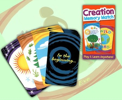 Creation Memory Match Card Game   -