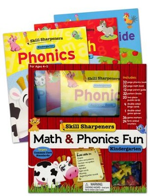 Math & Phonics Fun: Kindergarten   -