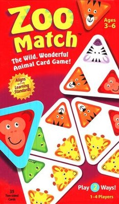 Zoo Match: The Wild, Wonderful Animal Card Game!   -