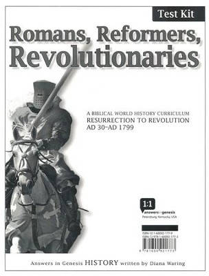 Romans, Reformers, Revolutionaries: Test Kit  -     Edited By: Gary Vaterlaus     By: Diana Waring