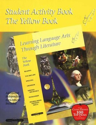 Learning Language Arts Through Literature, Grade 3, Yellow  - Slightly Imperfect  -