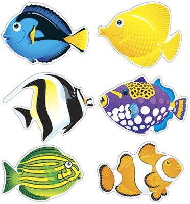 Fish Mini Classic Accents Variety Pack  -