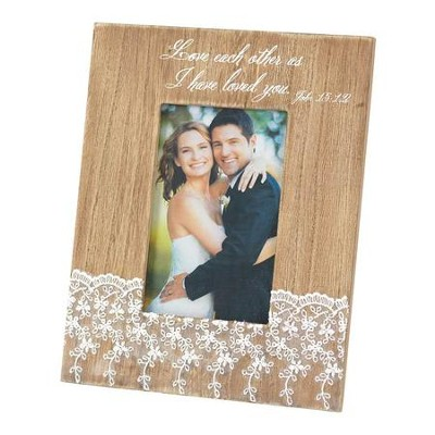 Love Each Other As I Have Loved You Photo Frame  -