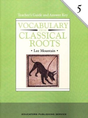 Vocabulary from Classical Roots Gr. 5 Teacher's Guide   -