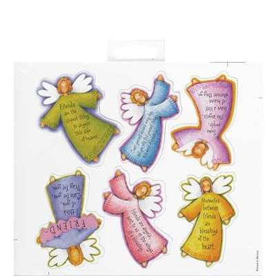 Angels Friendship Magnets, Sheet of 6  -
