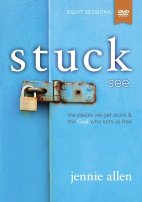 Stuck: see, DVD Only (A DVD-Based Study)  -     By: Jennie Allen