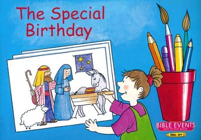 The Special Birthday: Bible Events Dot to Dot Book  -     By: Carine MacKenzie