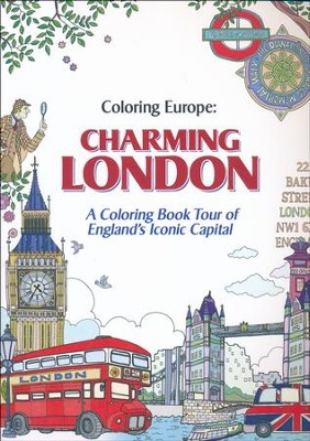 Coloring Europe: Charming London  -     By: Il-Sun Lee