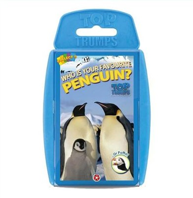 Top Trumps Card Game: Who is Your Favorite Penguin?  -