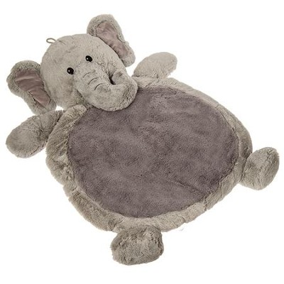 Elephant Baby Mat, Grey  -