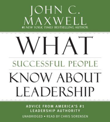 Leadership Answers To Your Toughest Questions, Unabridged 3 CD's  -     By: John C. Maxwell