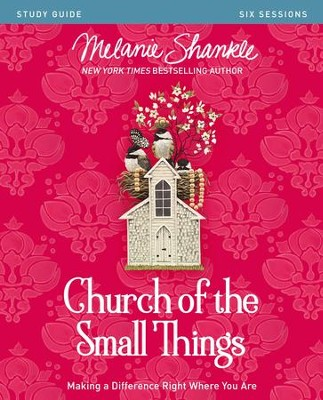 Church of the Small Things Study Guide: Making a Difference Right Where You Are - eBook  -     By: Melanie Shankle