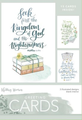 Kingdom of God Cards, Box of 15  -