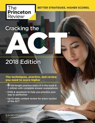 Cracking the ACT with 6 Practice Tests, 2018 Edition - eBook  -     By: Princeton Review