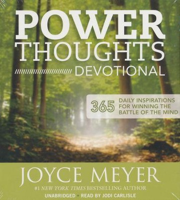 Power Thoughts Devotional: 365 Daily Inspirations for Winning the Battle of the Mind  -     By: Joyce Meyer