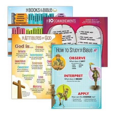 Answers Bible Curriculum Year 1 Quarter 1 Classroom  Posters Set of 3  -