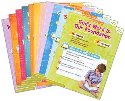 Answers Bible Curriculum Year 1 Quarter 1 Grades 1 & 2 Extra Take Home Sheets    (1 Student)  -