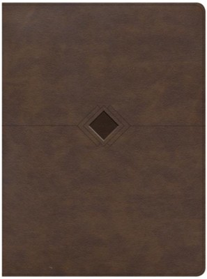 CSB Day-by-Day Chronological Bible--soft leather-look, brown  -     By: George H. Guthrie &  CSB Bibles by Holman, George H. Guthrie