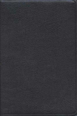 KJV/Amplified Parallel Bible, Bonded leather, black  - Slightly Imperfect  -