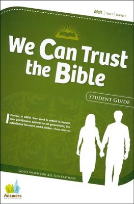 Answers Bible Curriculum Year 1 Quarter 1 Adult Student Guide                           -