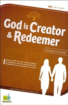 Answers Bible Curriculum Year 1 Quarter 2 Adult Student Guide                       -