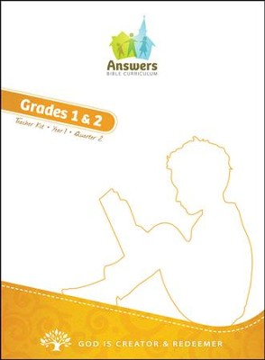 Answers Bible Curriculum Year 1 Quarter 2 Grades 1 & 2 Teacher Kit                             -