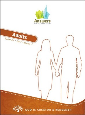 Answers Bible Curriculum Year 1 Quarter 2 Adult Teacher Kit                     -