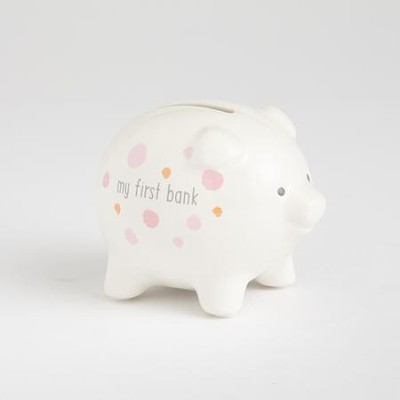 My First Piggy Bank, Pink  -