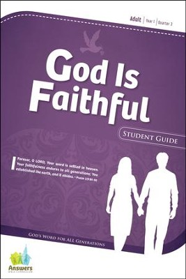 Answers Bible Curriculum Year 1 Quarter 3 Adult Student Guide                                       -