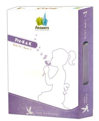 Answers Bible Curriculum Year 1 Quarter 3 Preschool Teacher Kit   -