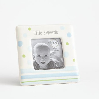 Little Sweetie Photo Frame, Blue  -