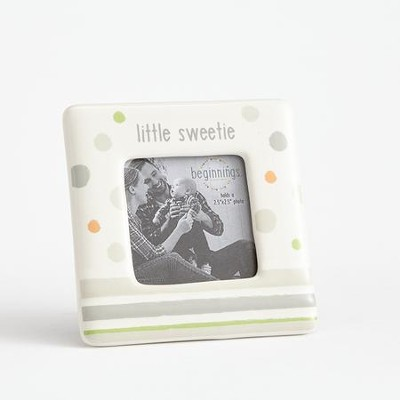 Little Sweetie Photo Frame, Neutral  -
