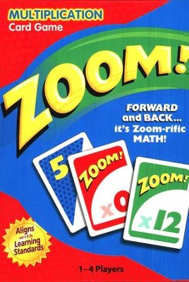 Zoom! Multiplication Card Game   -