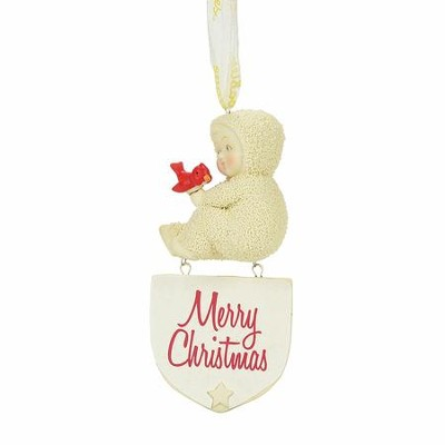 Merry Christmas Ornament  -     By: Kristi Jensen-Pierro