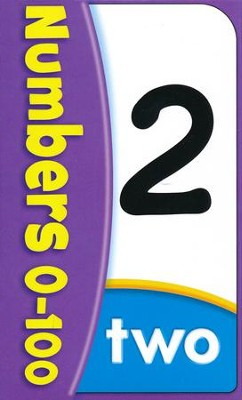 Numbers 0-100 Pocket Flash Cards   -