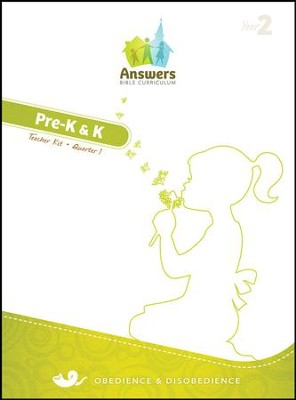 Answers Bible Curriculum Year 2 Quarter 1 Preschool Teacher Kit                                                    -
