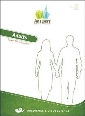 Answers Bible Curriculum Year 2 Quarter 1 Adult Teacher Kit                                               -