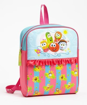 VeggieTales Backpack, Characters  -