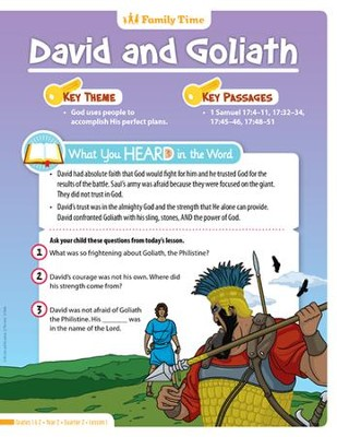 Answers Bible Curriculum Year 2 Quarter 2 Grades 1-2  Student Take Home Sheets                                                   -