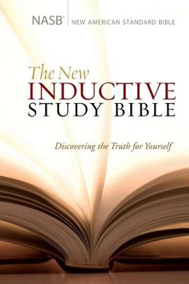 NASB New Inductive Study Bible, Hardcover   -     By: Precept Ministries International