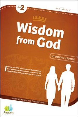 Answers Bible Curriculum Year 2 Quarter 2 Adult Student Guide                                -