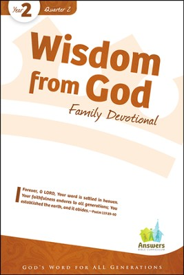 Answers Bible Curriculum Year 2 Quarter 2 Family Devotional Book                                        -