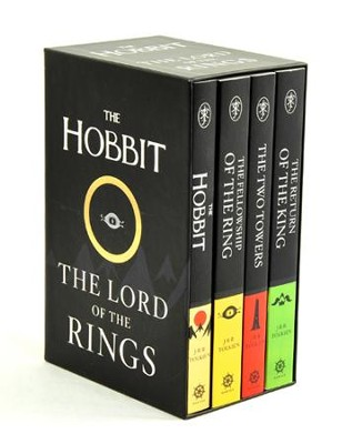 The Hobbit and The Lord of the Rings, 4 Volume Boxed Set   -     By: J.R.R. Tolkien