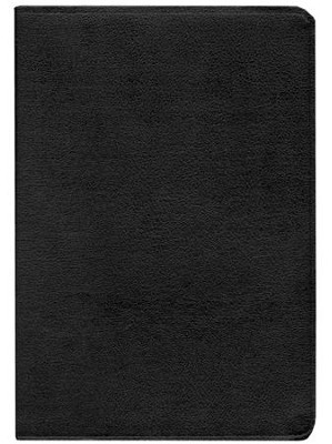 KJV Life in the Spirit Study Bible, Top Grain Leather, Black,  Thumb-Indexed (Previously titled The Full Life Study Bible)  -