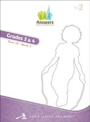 Answers Bible Curriculum Year 2 Quarter 3 Grades 3-4 Teacher Kit   -