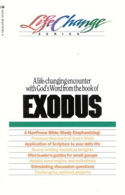 Exodus, LifeChange Bible Study   -