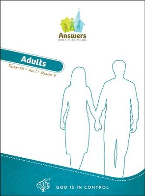 Answers Bible Curriculum Year 1 Quarter 4 Adult Teacher Kit                                          -