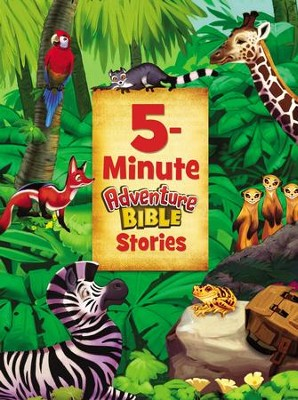 5-Minute Adventure Bible Stories - eBook  -     By: Catherine DeVries     Illustrated By: Jim Madsen