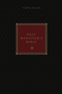 NKJV, Minister's Bible, Ebook, Red Letter Edition - eBook  -     By: Thomas Nelson